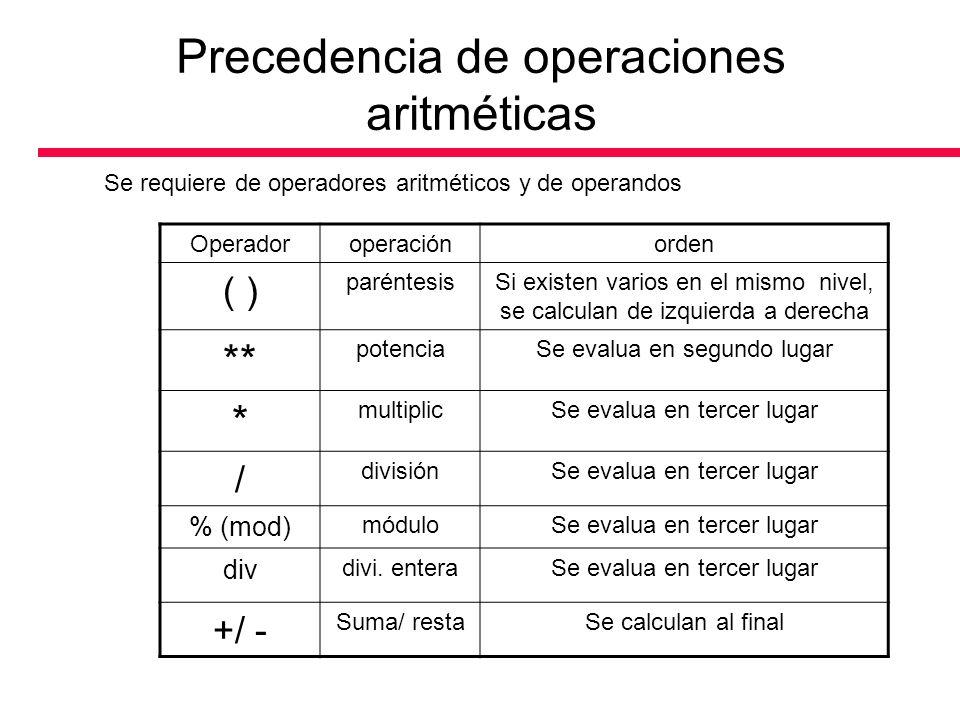 Toma de desiciones: Operadores relacionales Los encunciados en un programa llevan a cabo acciones (cálculos, entradas, salidas) o toman decisiones.