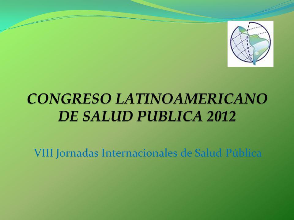 VIII Jornadas Internacionales de Salud Pública