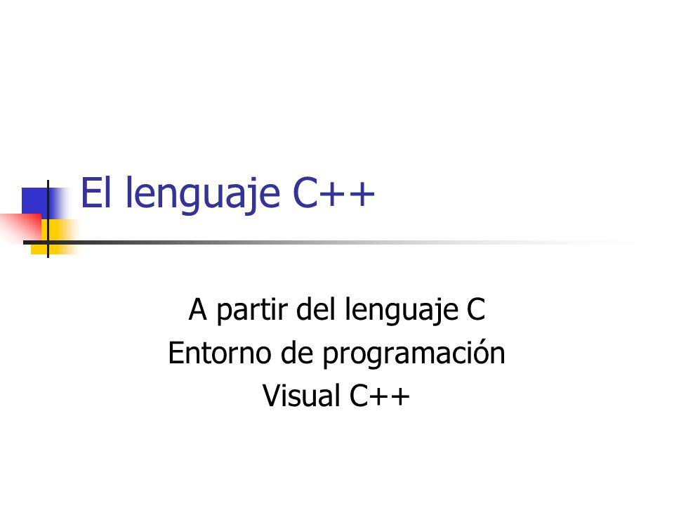 Herencia class ClaseDerivada: public o private ClaseBase Un nombre redefinido oculta el nombre heredado.