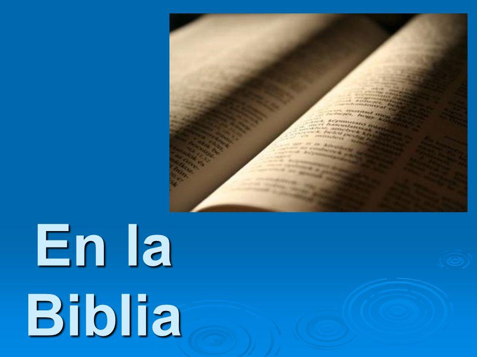 En la Biblia