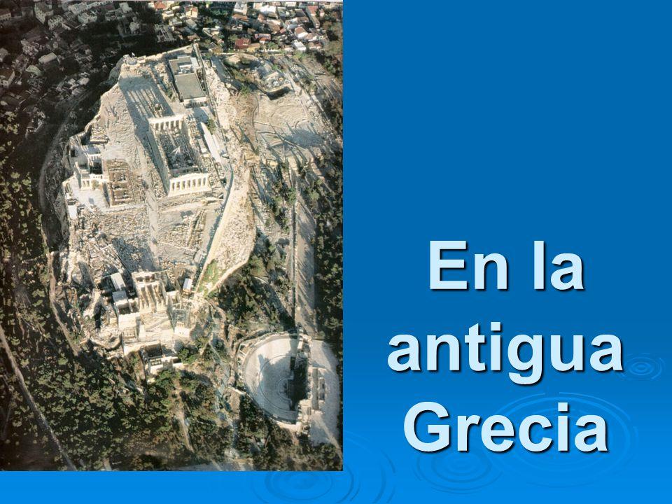 En la antigua Grecia