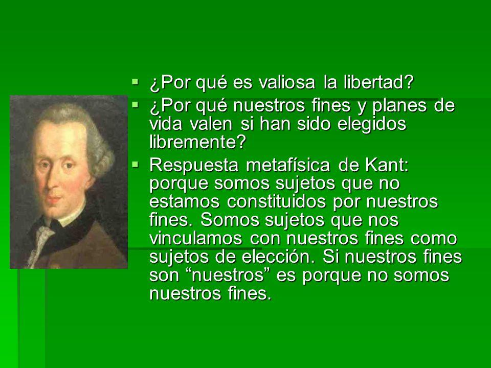 El problema de la libertad formal La igualdad de oportunidades como una condición para la libertad.