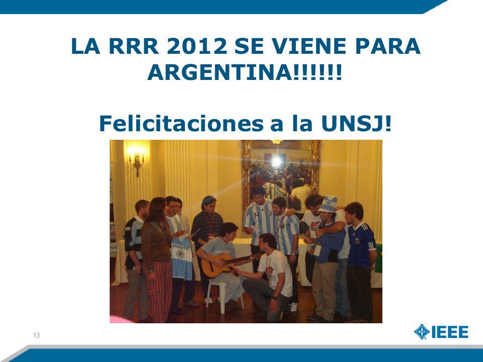 LA RRR 2012 SE VIENE PARA ARGENTINA!!!!!! Felicitaciones a la UNSJ! 13