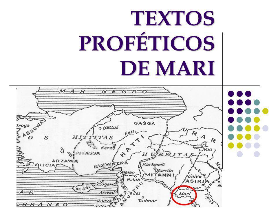 TEXTOS PROFÉTICOS DE MARI
