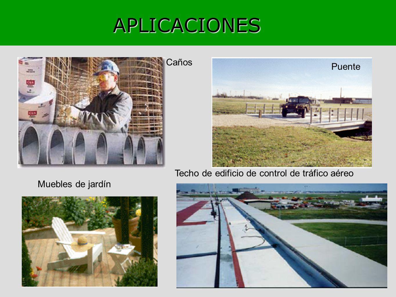 APLICACIONES Techo de edificio de control de tráfico aéreo Puente Caños Muebles de jardín