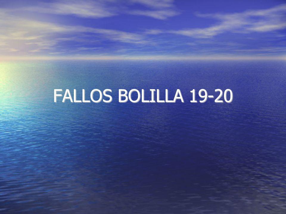 FALLOS BOLILLA 19-20