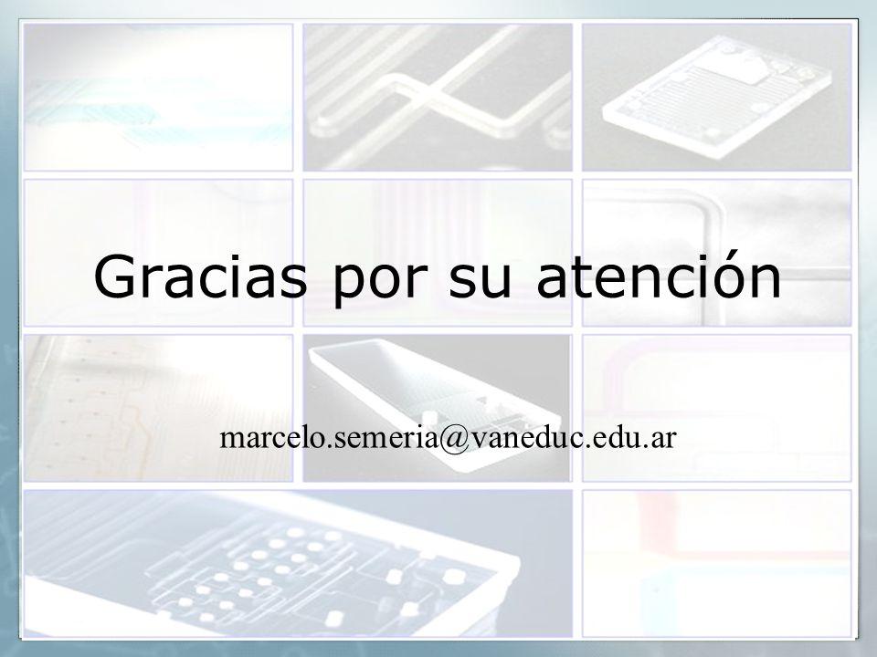 26 Gracias por su atención marcelo.semeria@vaneduc.edu.ar