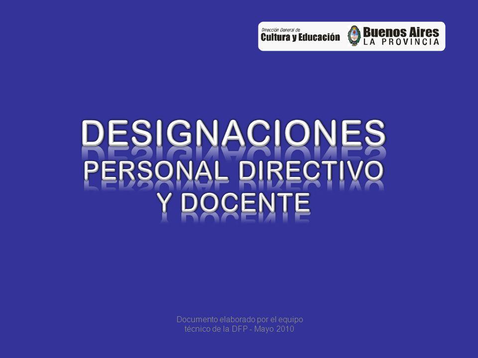 DESIGNACIÓN PERSONAL DIRECTIVO EN CENTROS PROPIOS Se hacen por reconocimiento de funciones jerárquicas (Art.