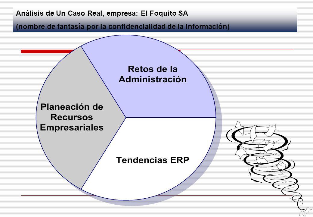 Análisis de Un Caso Real, empresa: El Foquito SA (nombre de fantasía por la confidencialidad de la información)