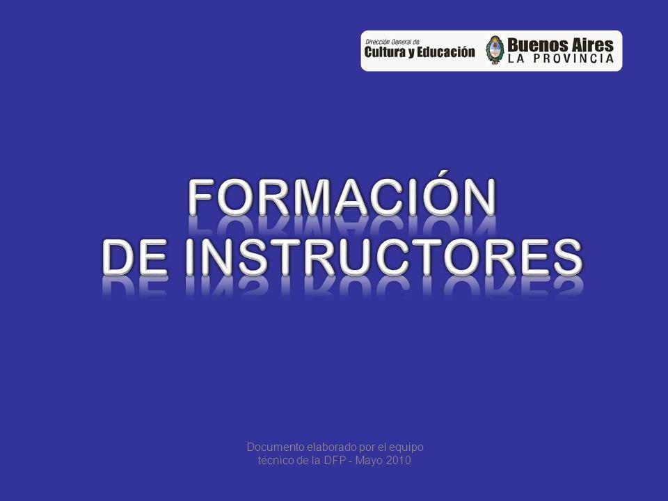Documento elaborado por el equipo técnico de la DFP - Mayo 2010