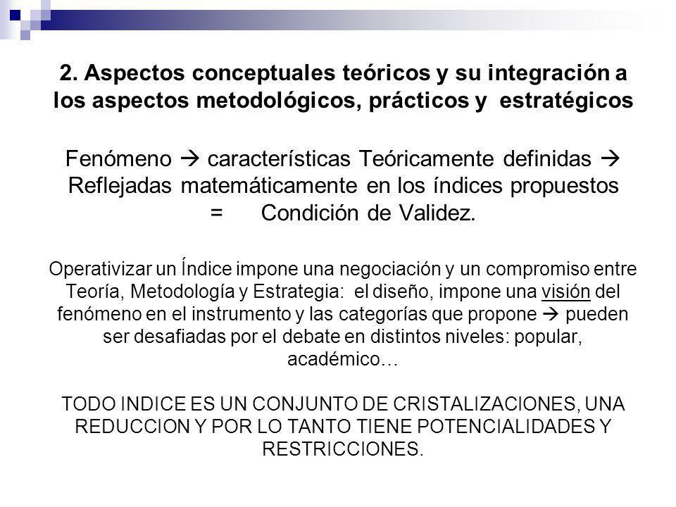 2. Aspectos conceptuales teóricos y su integración a los aspectos metodológicos, prácticos y estratégicos Fenómeno características Teóricamente defini
