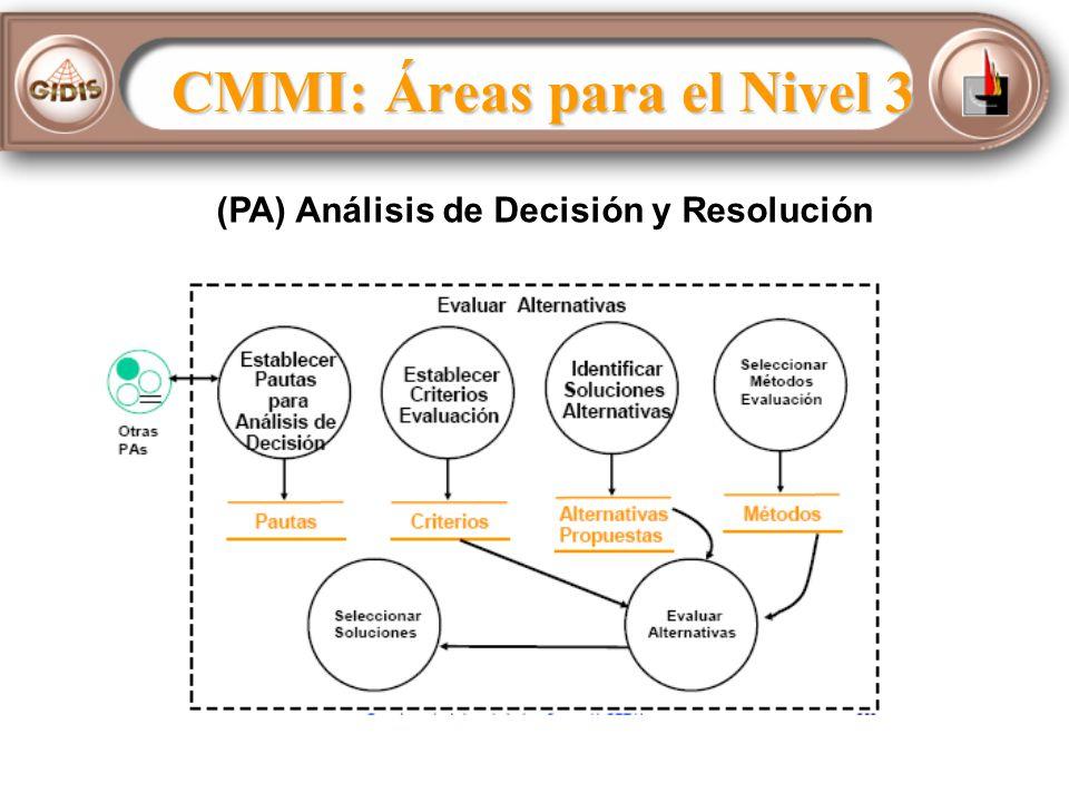 (PA) Análisis de Decisión y Resolución