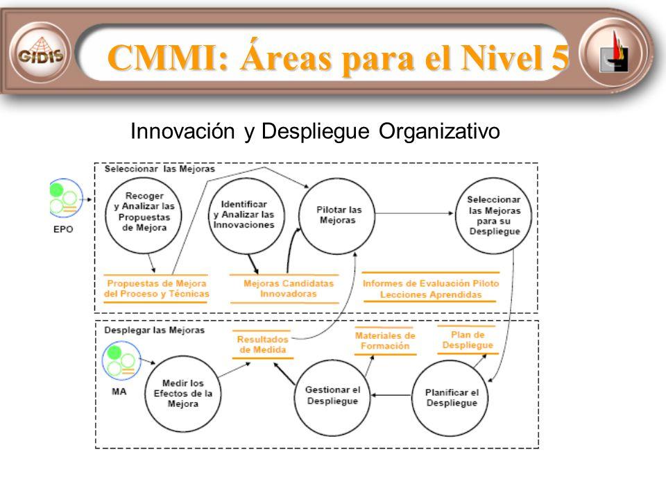 Innovación y Despliegue Organizativo