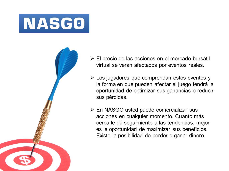 NASGO es verdaderamente único, debido a los múltiples factores para generar liquidez en el mercado de acciones.