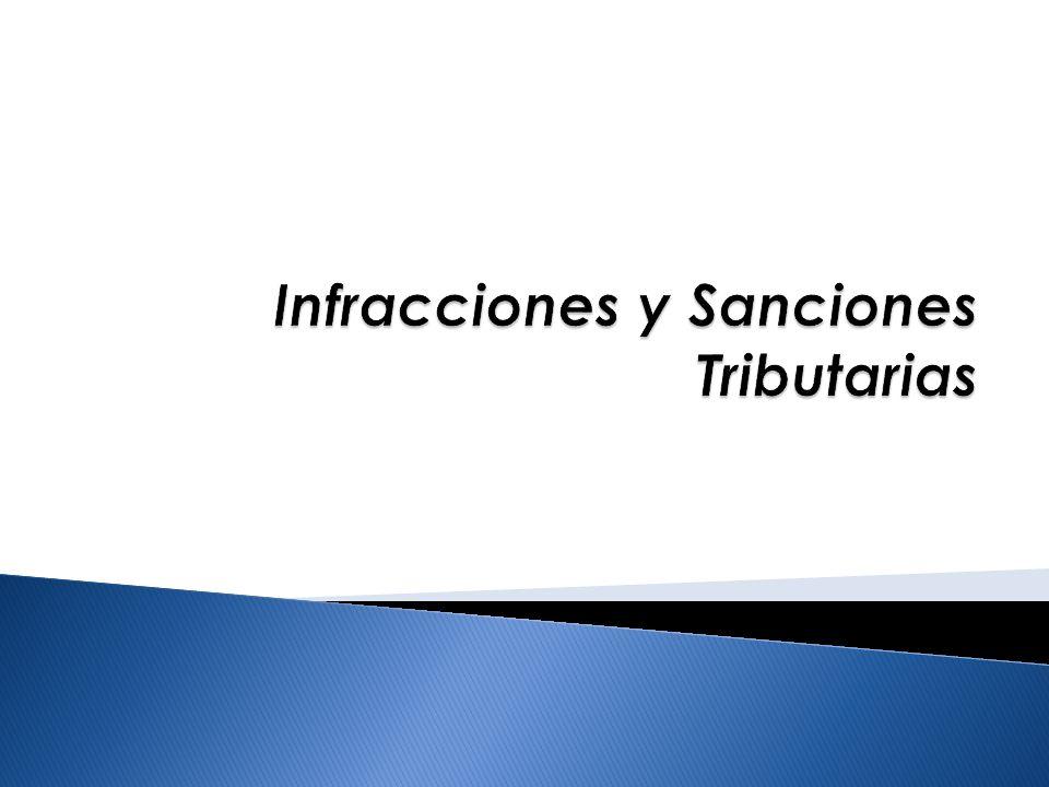 INFRACCIONES Discrecionalidad / Incentivos OBLIGACIONES TRIBUTARIAS SANCIONES EXTINCIÓN DE SANCIONES SE EXIME DE SANCIÓN REBAJA DE SANCIÓN SIN REBAJA DE SANCIÓN Sinopsis General