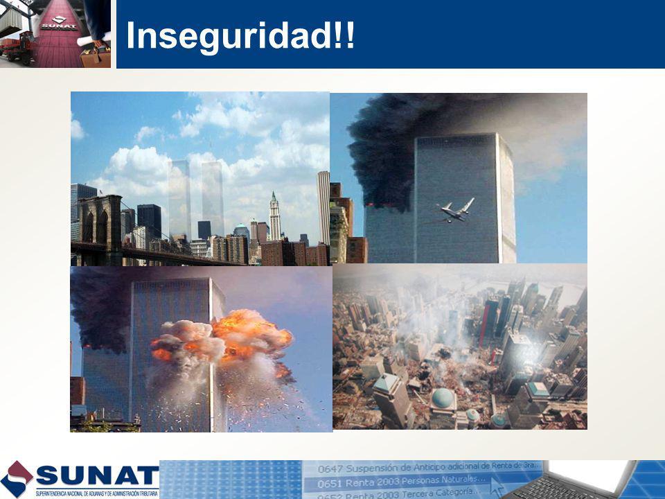 Inseguridad!!