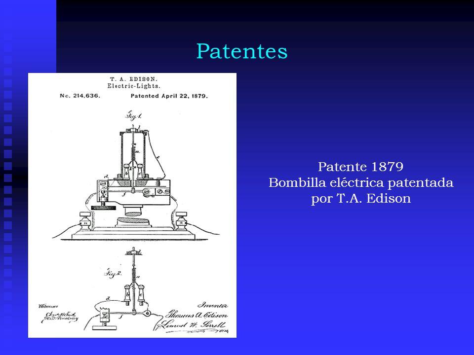 Patentes Patente 1884 Tajador mecánico fijo inventado por H.A.Blanchard