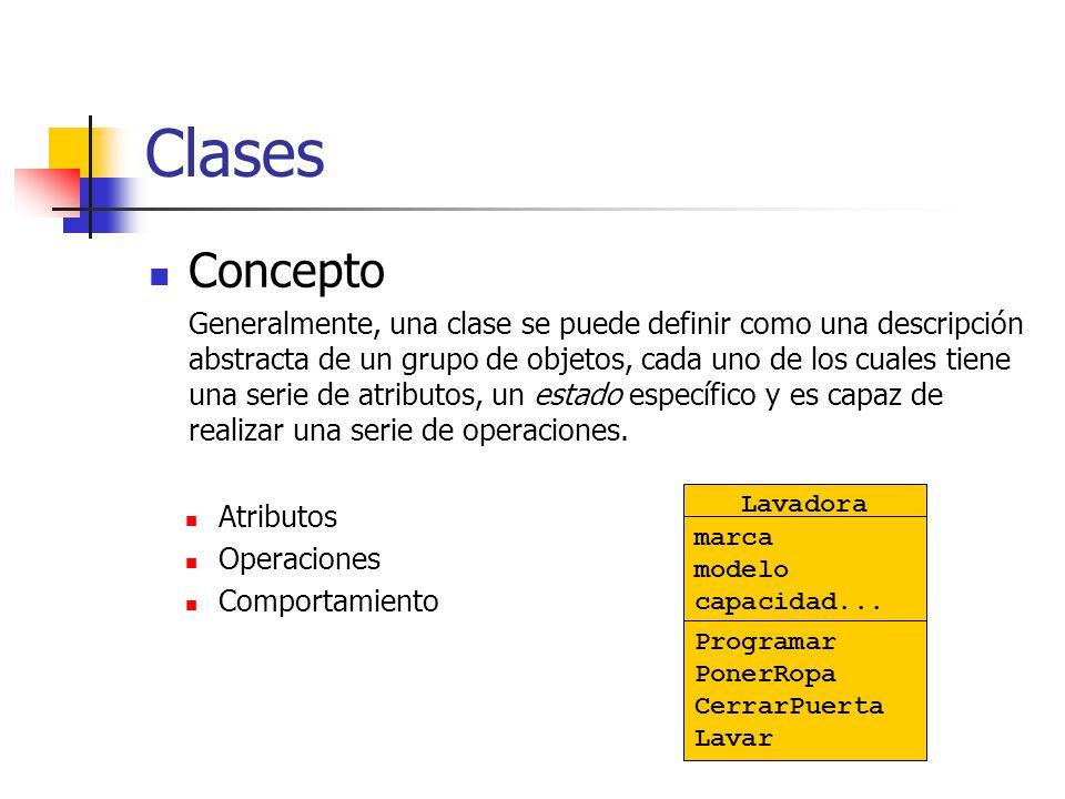Objetos Concepto: Un objeto, no es más que una instancia de una clase.