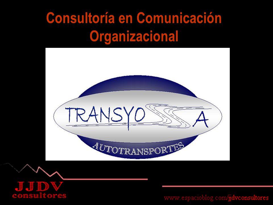 Consultoría en Comunicación Organizacional