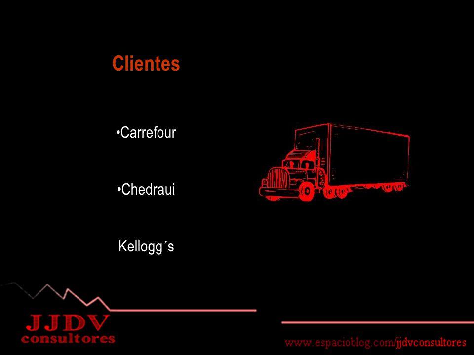 Clientes Carrefour Chedraui Kellogg´s