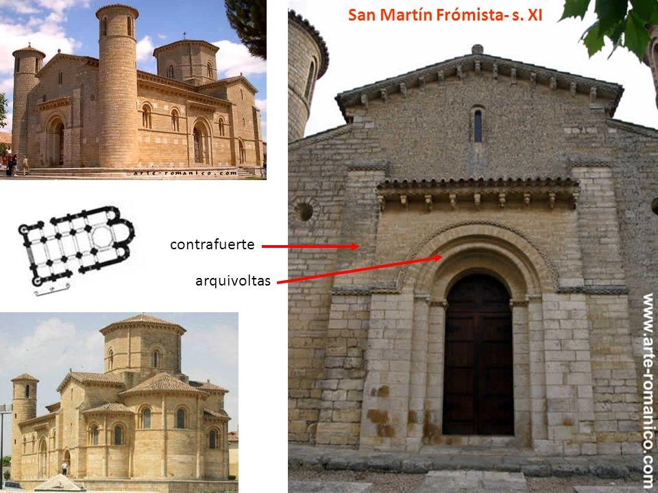San Martín Frómista- s. XI contrafuerte arquivoltas