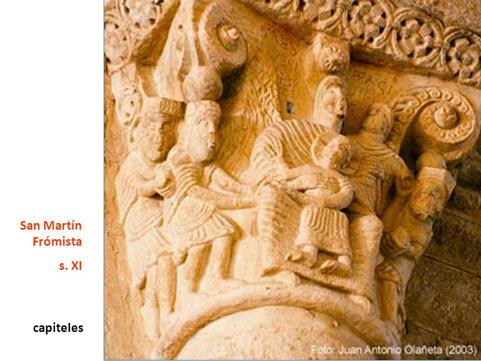 capiteles San Martín Frómista s. XI