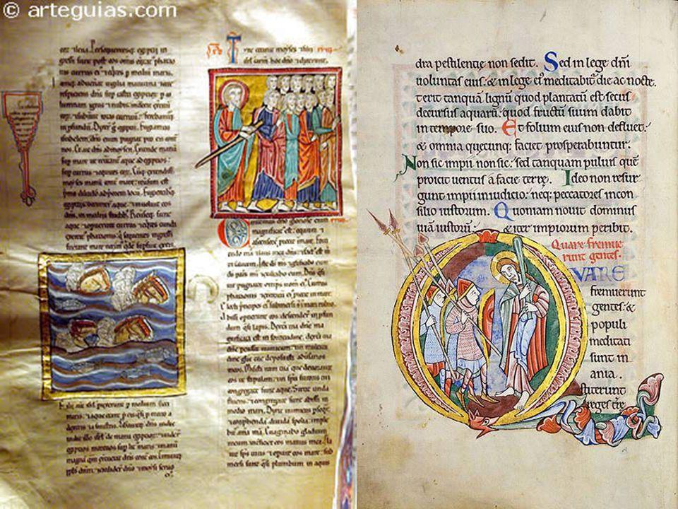 El salterio de san Albans. Inglaterra, siglo XII