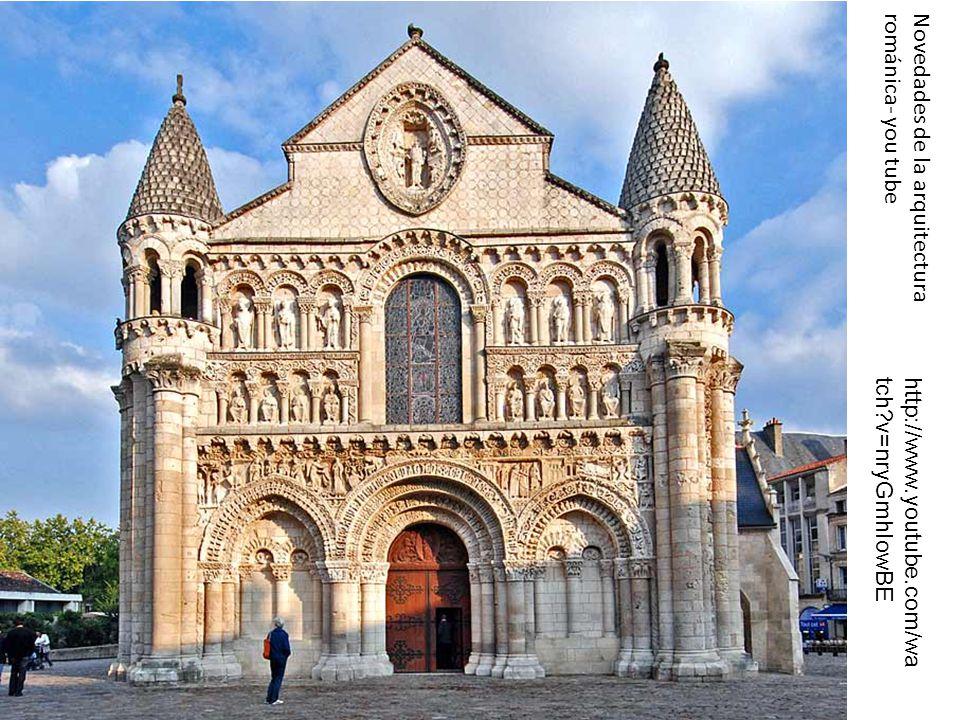 Novedades de la arquitectura románica- you tube http://www.youtube.com/wa tch?v=nryGmhIowBE