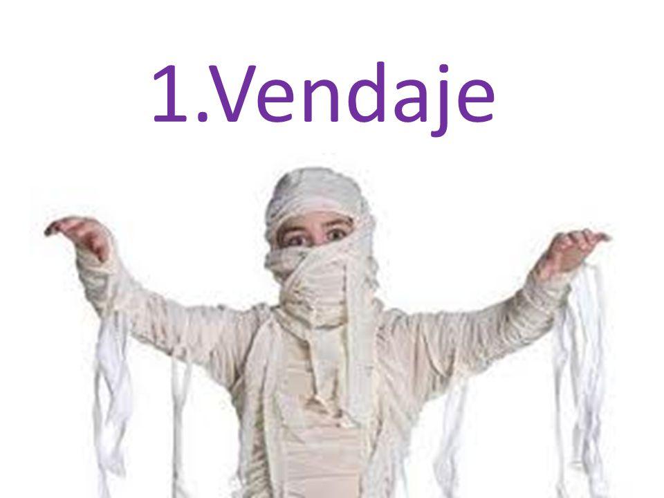1.1 Definición El vendaje es un procedimiento que consiste en envolver una parte del cuerpo que está lesionada.