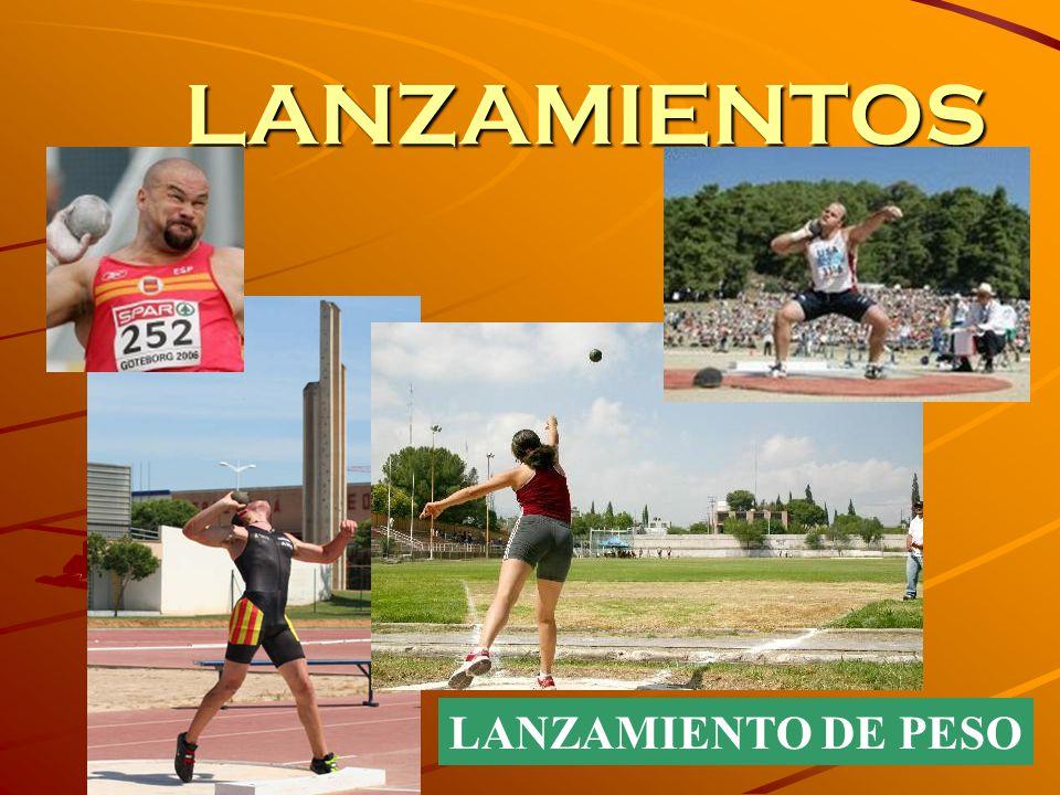 LANZAMIENTOS LANZAMIENTO DE PESO