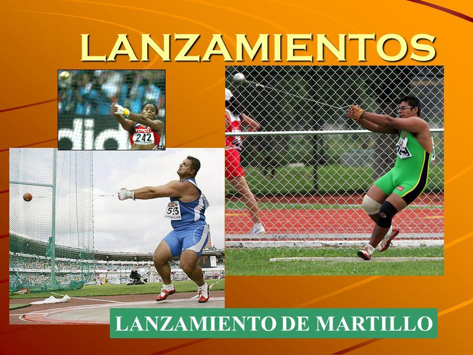LANZAMIENTOS LANZAMIENTO DE MARTILLO