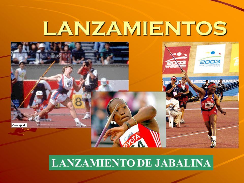 LANZAMIENTOS LANZAMIENTO DE JABALINA
