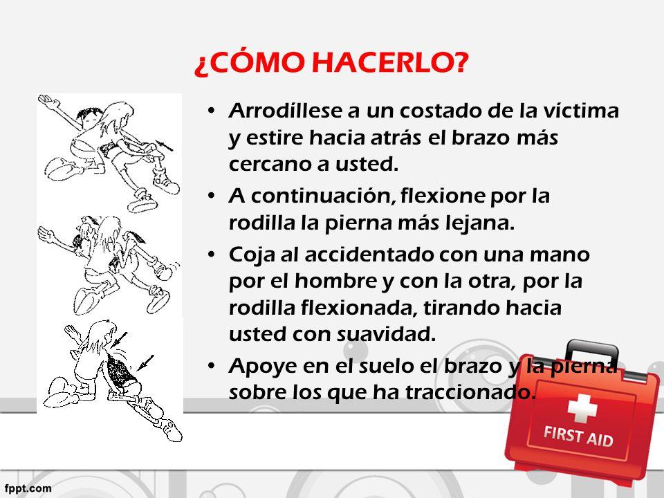 METODO DEL BOMBERO TRASLADO DE VICTIMAS SIN LESIONES EN LA COLUMNA.
