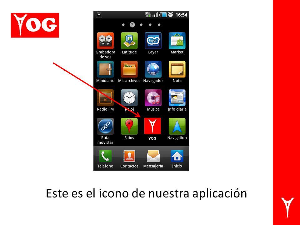 Este es el icono de nuestra aplicación
