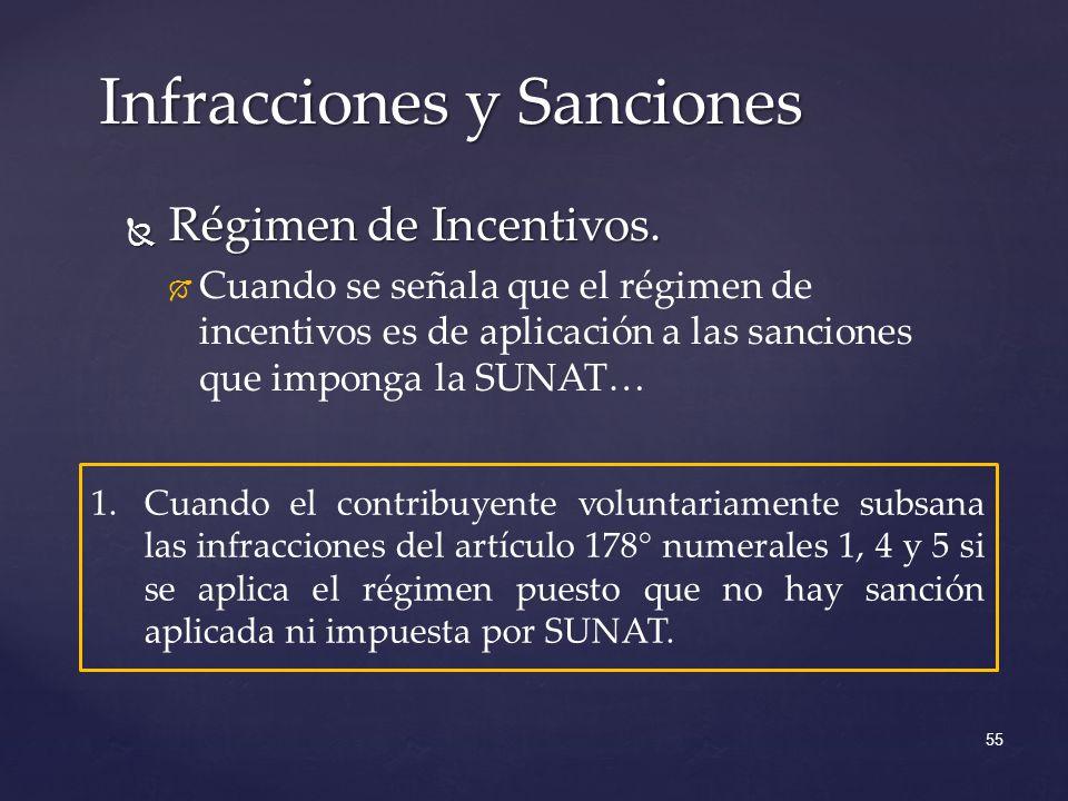 Régimen de Incentivos.Régimen de Incentivos.