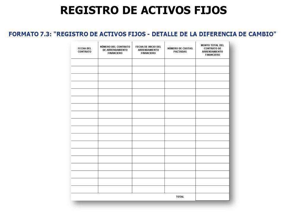 FORMATO 7.3: