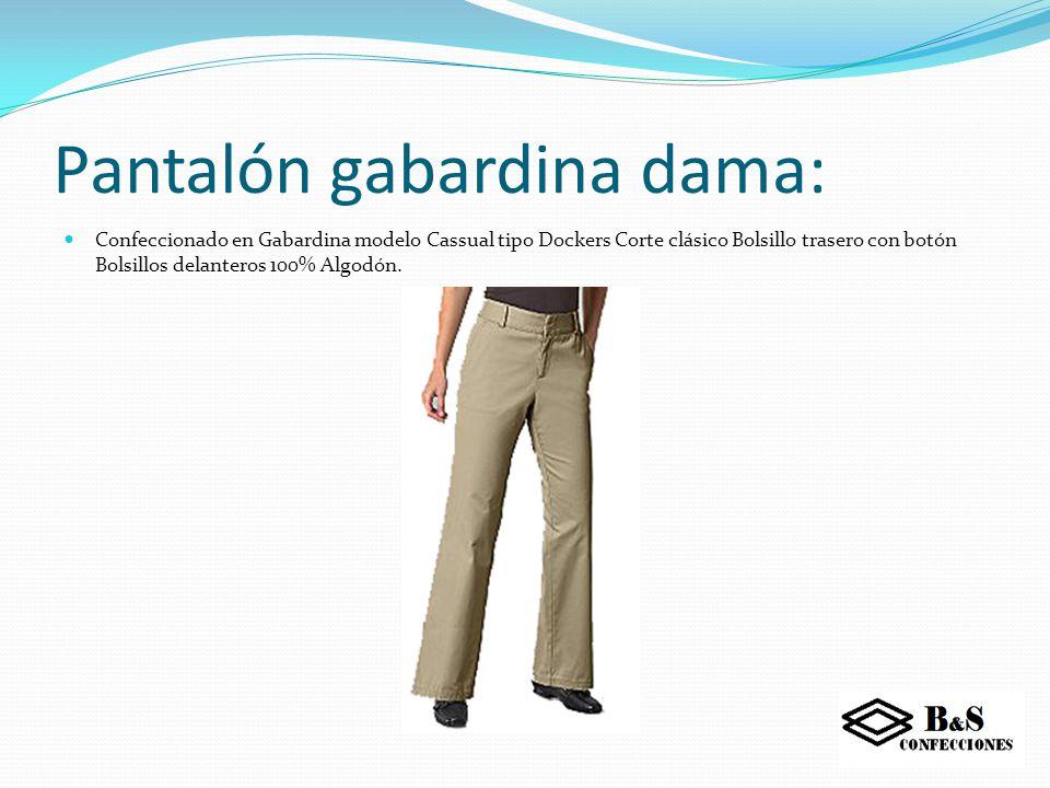 Pantalón con cinta reflectiva: Confeccionado en tela de alta visibilidad. (65% poliéster, 35% algodón) de alta resistencia, Con aplicaciones de cinta