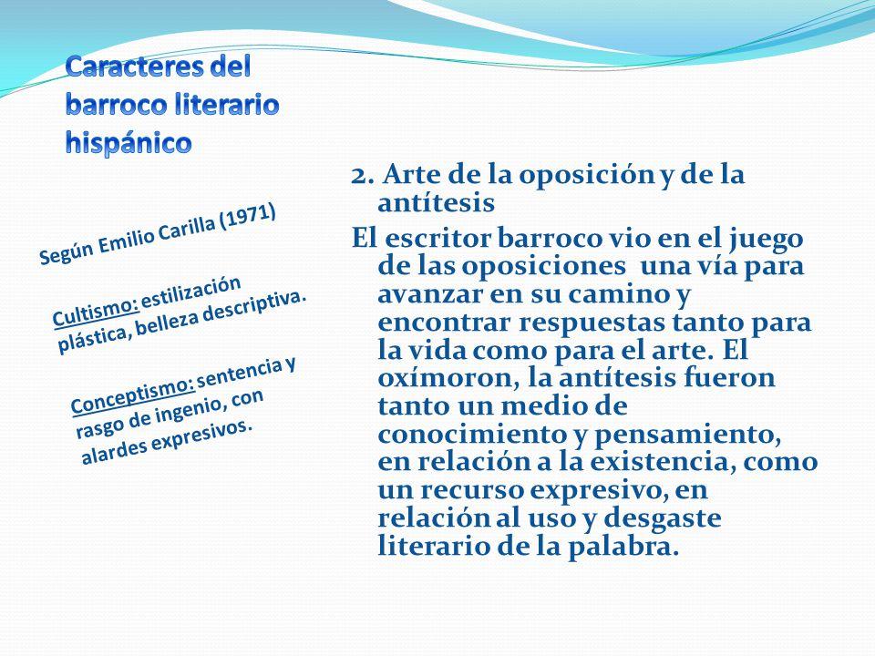 Según Emilio Carilla (1971) 3.