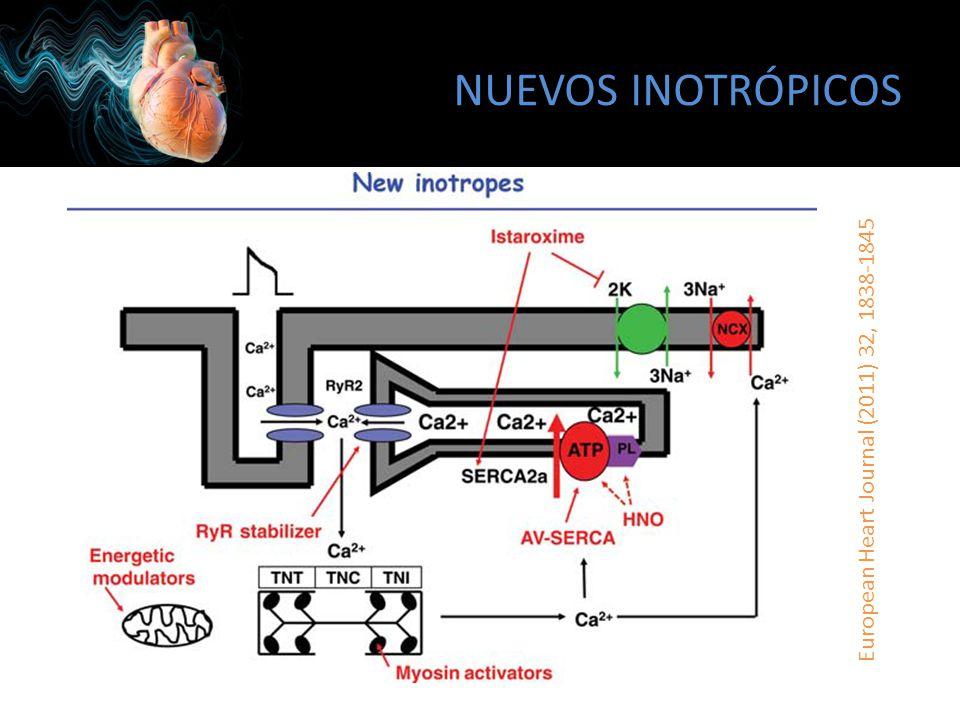 NUEVOS INOTRÓPICOS European Heart Journal (2011) 32, 1838-1845