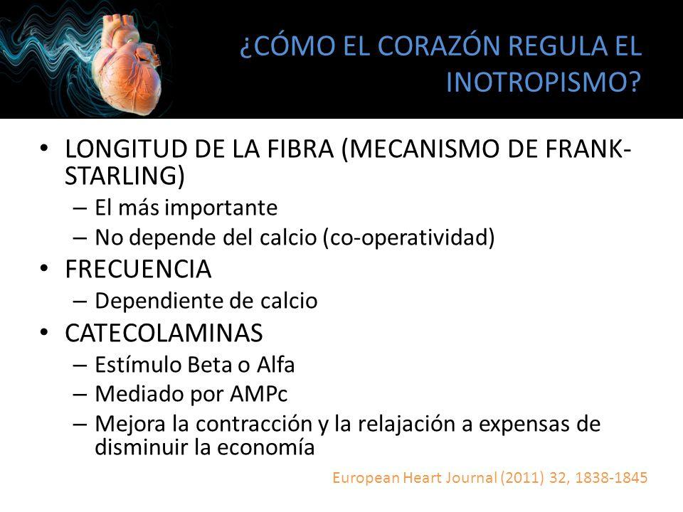 FISIOPATOLOGÍA FALLA CARDÍACA Crit Care Med 2008 Vol.36, No. 1 (Suppl.)