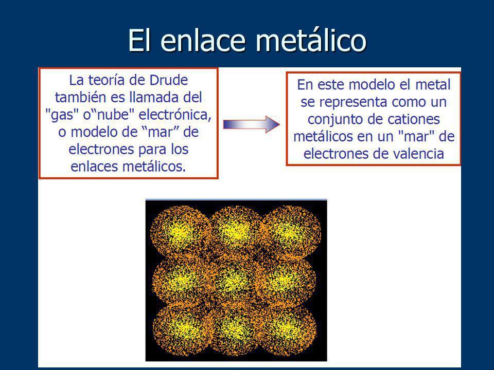 En los metales, las bandas de valencia se superponen a las de conducción y los electrones de las primeras pueden pasar a las segundas y moverse libremente.