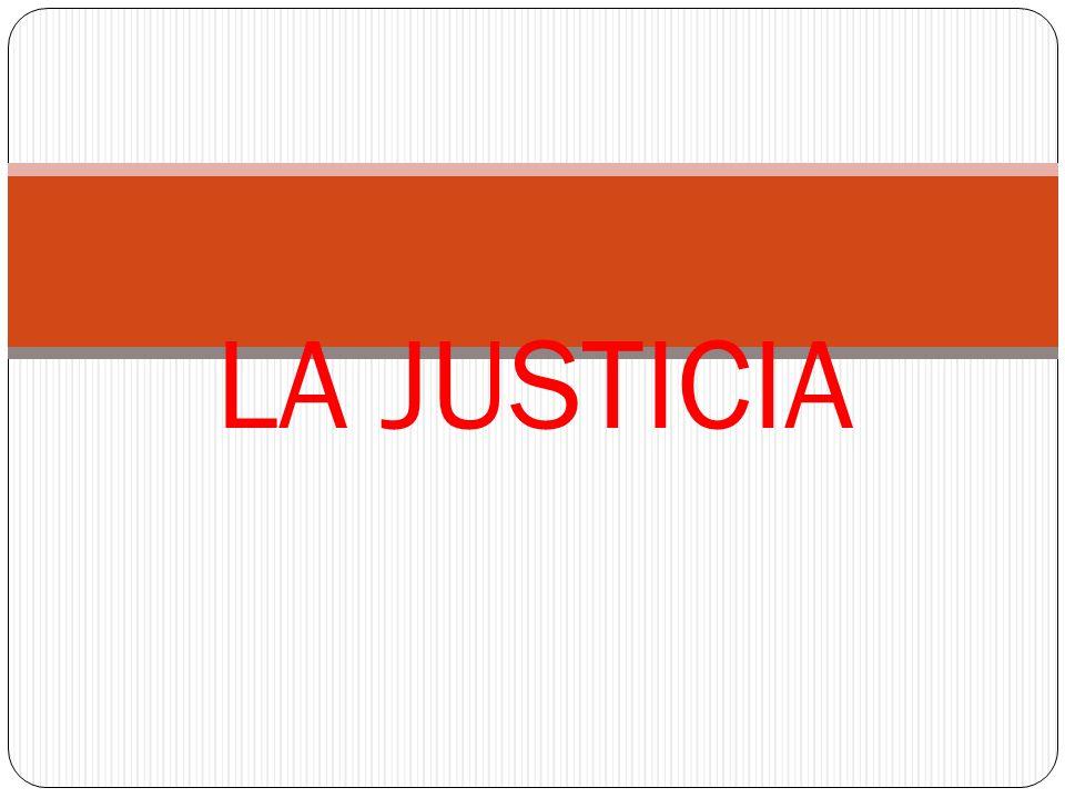 LA JUSTICIA