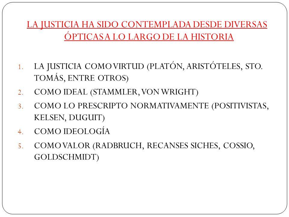 Alf Ross Concepción de justicia caracterizada por el emotivismo, 2 aspectos: 1.