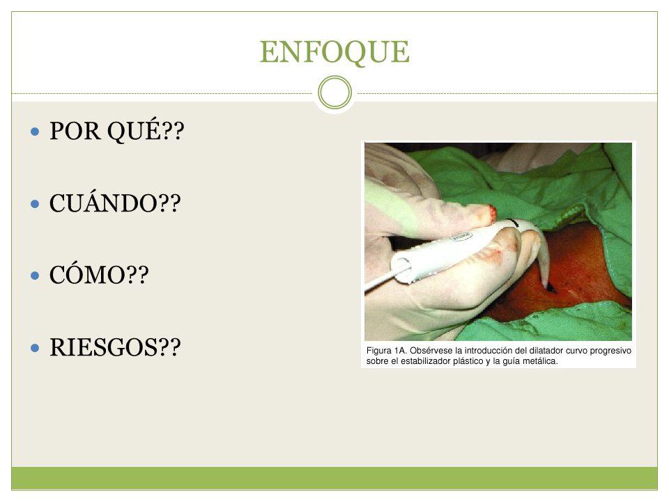 Percutánea + fibroscopio: Obesos, cuello corto, cicatrices - J Anaesthesiol Clin Pharmacol.