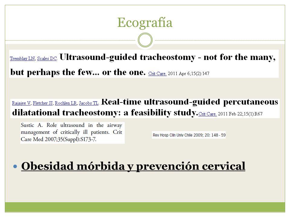Ecografía Obesidad mórbida y prevención cervical