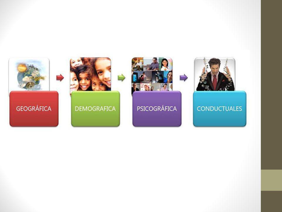 Implementación de estrategias de segmentación Marketing concentrado Marketing concentrado Dirigirse a un solo segmento con una mezcla de marketing único Marketing diferenciado Marketing diferenciado Dirigirse a varios segmentos utilizando mezclas de marketing individuales.
