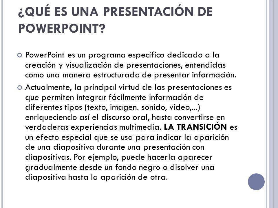 LOS OBJETOS son los elementos básicos de construcción en PowerPoint.