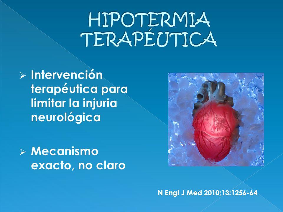 Mecanismos: 1.Reducción metabolismo cerebral 2. Inhibe la liberación glutamato y dopamina 3.