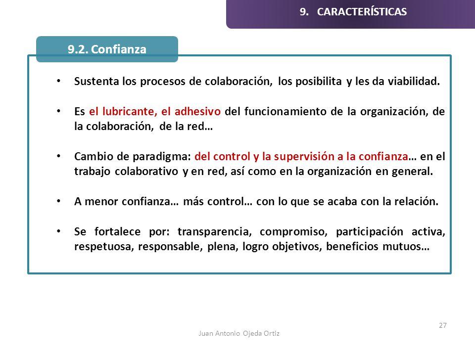 Sustenta los procesos de colaboración, los posibilita y les da viabilidad. Es el lubricante, el adhesivo del funcionamiento de la organización, de la