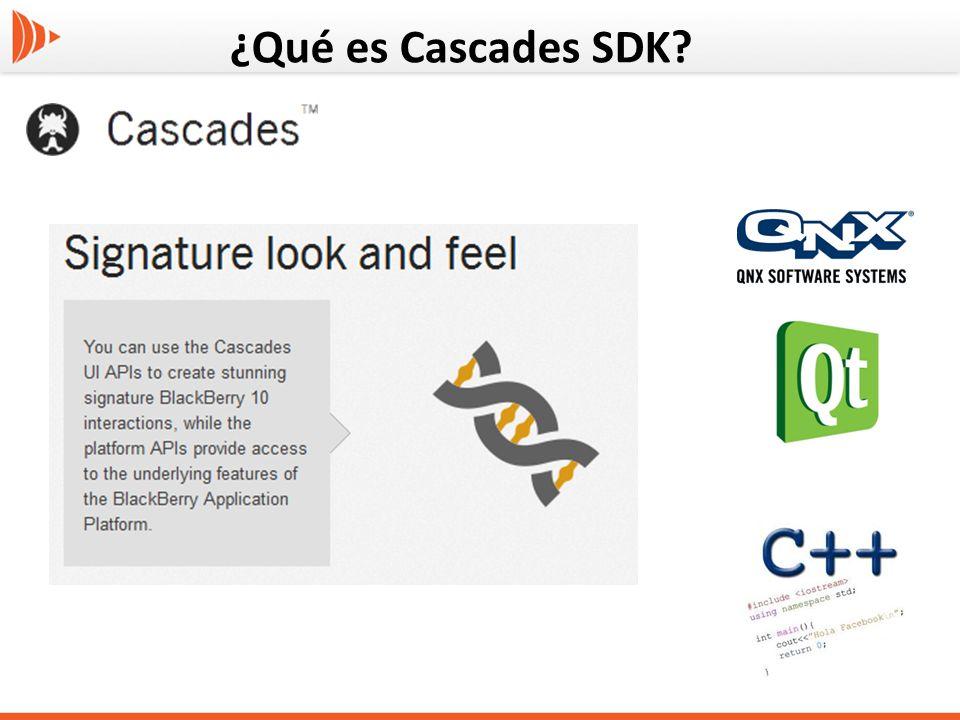¿Qué es Cascades SDK